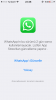 whatsapp ı 2015 den bu yana güncellememek