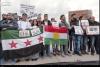 öso nun kürdistan bayrağı açması