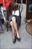 komşu kadının bacakları