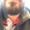 sakalını kesemeyen erkek