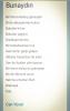 sözlük yazarlarının sevdiği şiirler