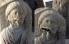 2000 yıllık heykelin ağzına musluk takmak