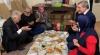 binali yıldırımın yer sofrasında iftar yapması