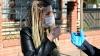 maske takmayan kadının polisleri tehdit etmesi