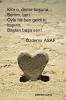 aşık olduğun kişiye bir şiir bırak