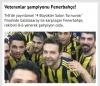 tv8 veteranlar ligi şampiyonu fenerbahçe