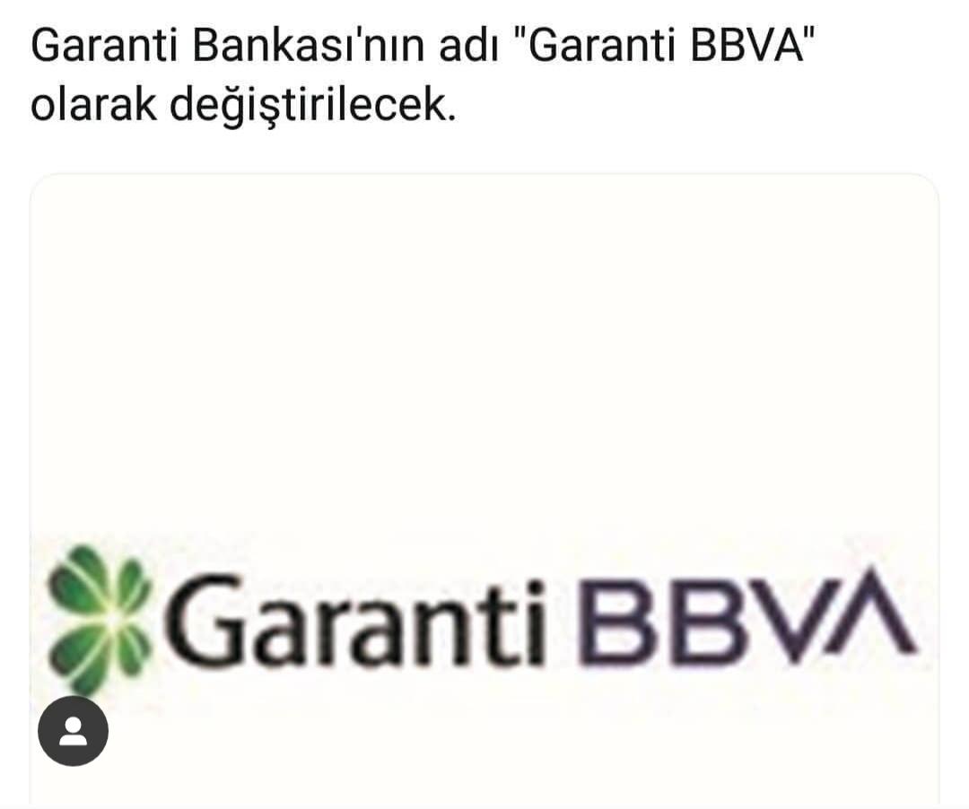 garanti bankası nın isim değiştirmesi