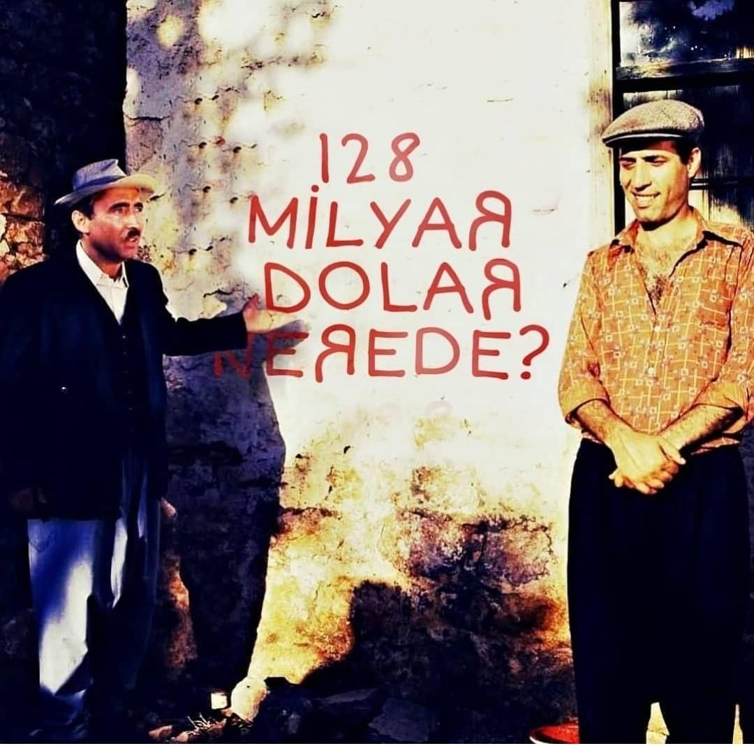128 milyar dolar nerede