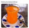 starbucks ta kahve içmemiş yazar