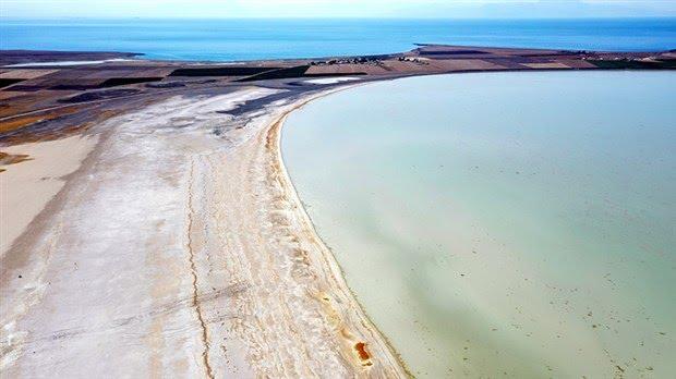 kuş cenneti arin gölü nde kuraklık alarmı