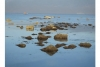 deniz çekildi antik liman kalıntıları ortaya çıktı
