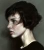 kısa saçlı kadın