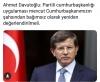 22 nisan 2019 ahmet davutoğlu açıklaması