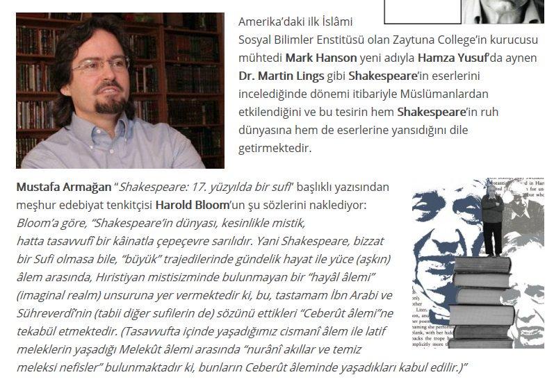 shakespeare müslüman mıydı ingiliz gazetelerleri