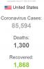 abd de koronavirüsü vakası