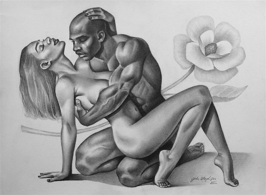 Erotic black artwork