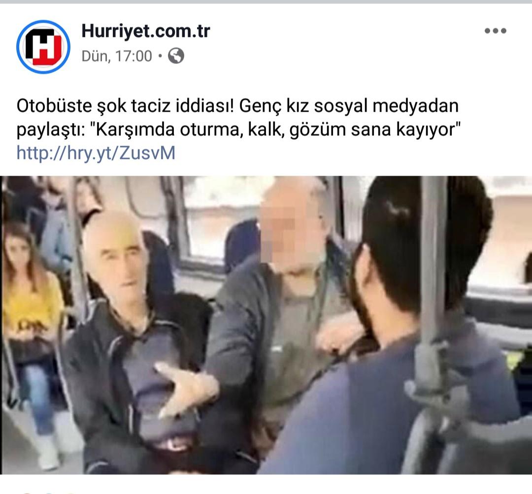 deve dururken otobüse binen müslüman