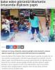 marketin ortasına sıçan adam