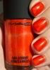turuncu oje
