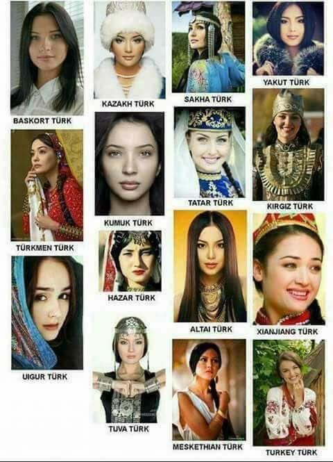 türk yurtlarının asil kadınları