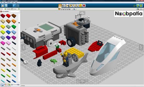 lego digital designer uluda s zl k. Black Bedroom Furniture Sets. Home Design Ideas