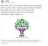 hdp nin soykırım tweeti