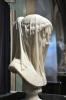 peçeli meryem heykeli