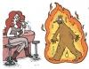 hoşlanılan kadın sigarasına ateş istemesi