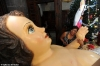 çocuk isa heykeli
