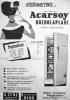 1960 larda yayınlanan arçelik buzdolabı reklamı