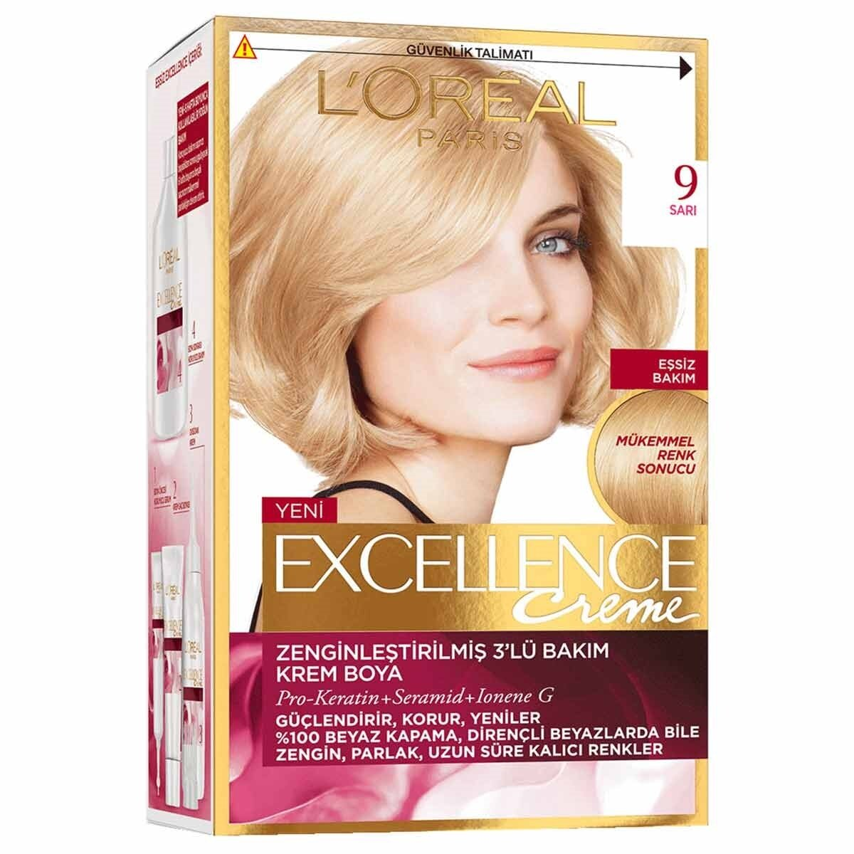 loreal saç boyaları