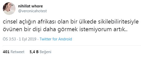 türk kızlarının kendini beğenmiş olması