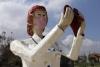 denizli de sağlık çalışanlarına yapılan heykeller