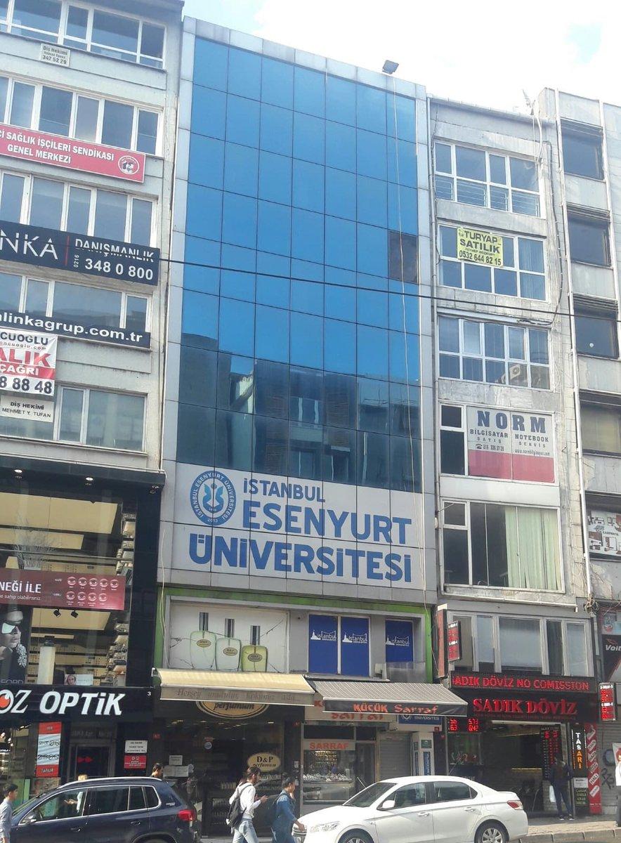 esenyurt üniversitesi kampüsü