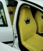 sarı araba koltuk kılıfı
