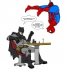 batman vs spiderman