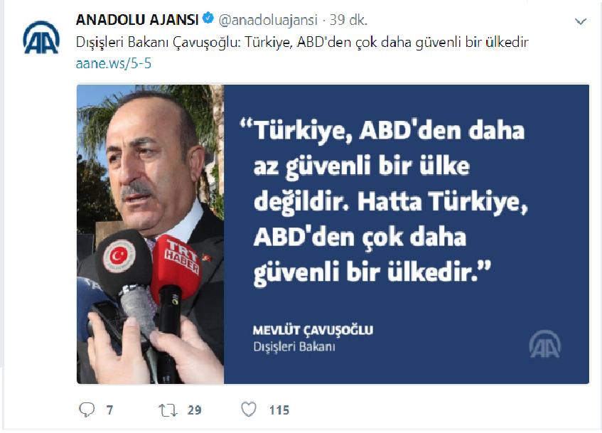 türkiye abd den çok daha güvenli bir ülkedir