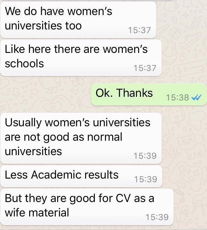 kadın üniversitesi