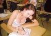 sınıfa sonradan gelen güzel ve seksi kız