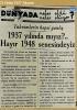 eski türkiye den gazete manşetleri
