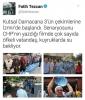 izmir halkının tankerlerden su taşıması