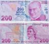 200 liralık banknot