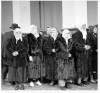 1950 de kürk giyen türkler