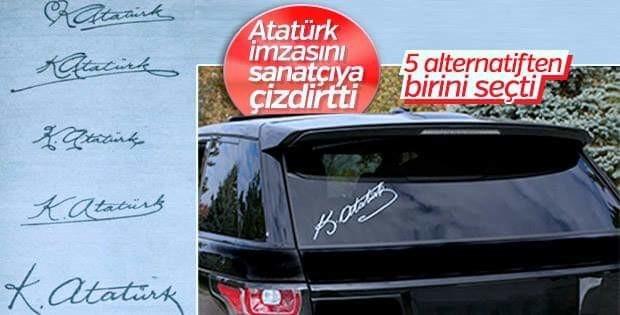 Atatürk Imzası Uludağ Sözlük