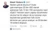 binali yıldırım ın sponsorlu tweet atması
