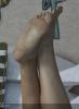 elizabeth olsen in ayakları