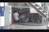 israil in filistinli çocukları kafese kapatması