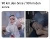 kadınların 90 km den fazla araç kullanmaları yasak
