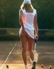 tenis oynayan kız çekiciliği