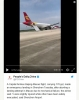 360 derece döndükten sonra inmeyi başaran uçak